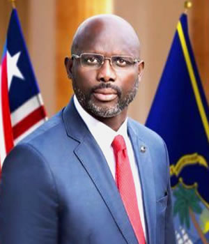H.E. Dr. George Manneh Weah